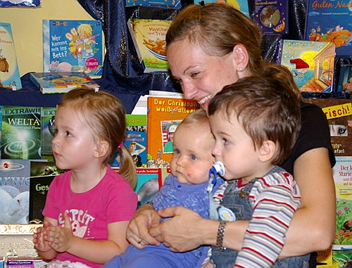 Begeisterte Kinder bei Musical-Lesung (Foto: Bernd Mudrow)